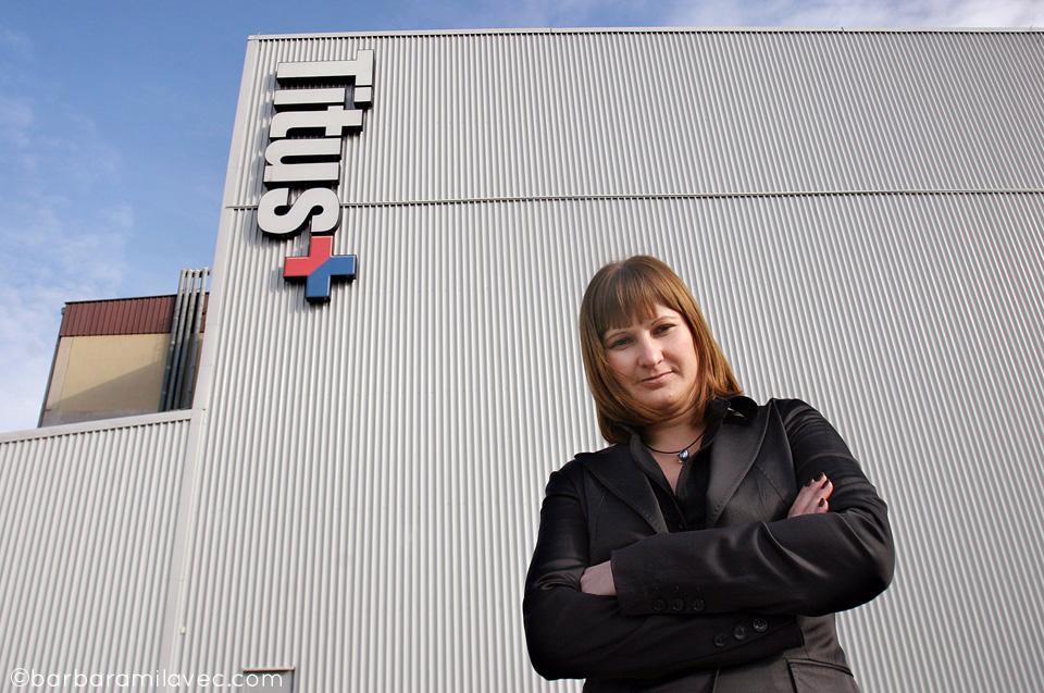 Martina Kuzmič - vodja marketinga v Titus Group