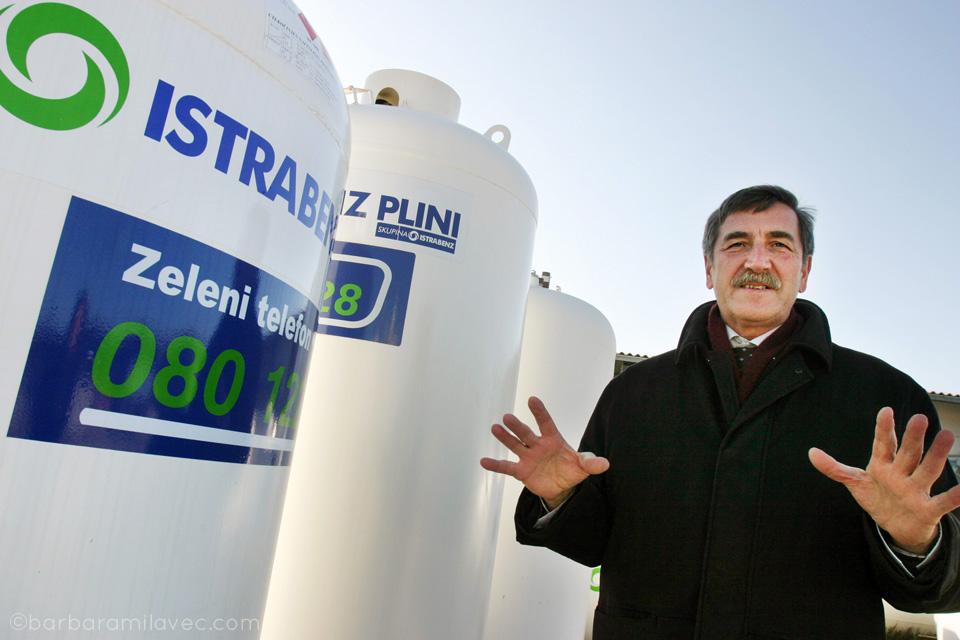 Zorko A. Cerkvenik - former Chairman of the Board of Istrabenz Plini